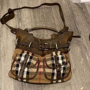 Burberry Large Hobo Crossbody Bag